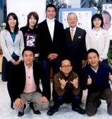 写真:テレビ出演