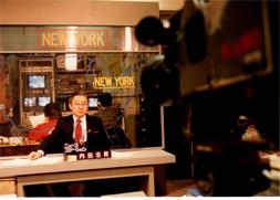 テレビ朝日系報道番組「ビッグニュースショー、いま世界は」ニューヨーク側キャスター。